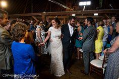 The excitement of the newlyweds captured by Christopher Duggan Photography #berkshirewed #berkshireweddingcollective #weddingphotography