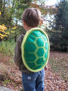 Turtle Shell Costume for Children. $55.00, via Etsy.