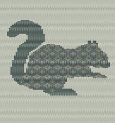 Ravelry: Fair Isle Squirrel pattern by Gary Kennedy (Intarsia)