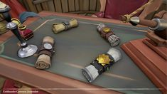 ArtStation - Sea of Thieves - Props, George O'Keeffe Sea Of Thieves, O Keeffe, Samurai, Cosplay, Costume, King, 3d, Coffee, Games