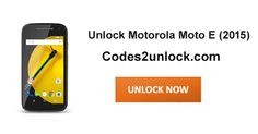 How to Carrier Unlock your Motorola Moto E (2015) by Unlock Code so you can use with another Sim Card or GSM Network. Unlock your Motorola Moto E (2015) fast & secure with lowest price guaranteed. Quick and easy Motorola Unlocking with step by step Unlocking Instructions.