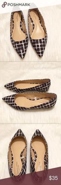 EUC Adam Lippes for Target Pointed Flats Excellent used condition. Adam Lippes for Target black and white pointed flats. Size 9. Only worn a handful of times (see photo of bottoms). No noticeable stains or scuffs. No box included. Comes from smoke free home. Adam Lippes For Target Shoes