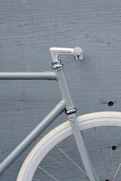 White. Bike. Straight. Lines. #pedalbike