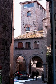 Viterbo,  Italy. Viterbo is an ancient city and comune in the Lazio region of central Italy, the capital of the province of Viterbo