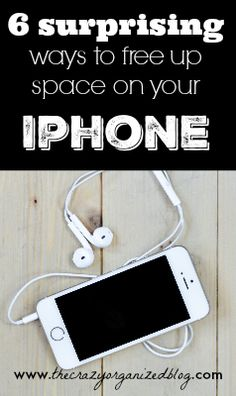 Completely surprising hacks that help you free up space on your iphone WITHOUT deleting apps! #iphone #phone #space #clutter