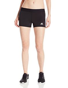 Adidas Performance Techfit 3-Inch Compression Boy Shorts. Figure-hugging, short workout tight with flatlock seams that protect against chafing. #dansbasketball #basketball #adidas #compression #techfit #afflink