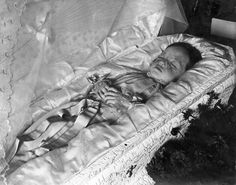John C. Gordon Photographic Collection (SJSU) - Deceased children  (perhaps, she died by measles)