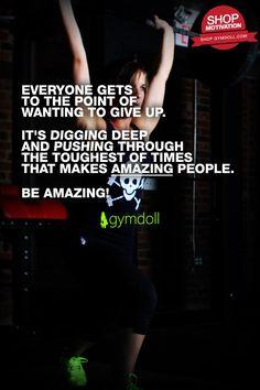 Be AMAZING!