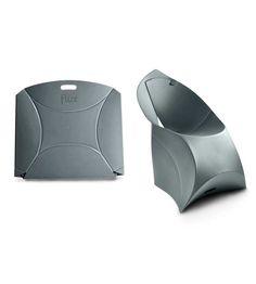 Flux chair anthracite grey