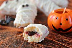 Mummie di Halloween Tutorial, Nutella, Sushi, Buffet, Ethnic Recipes, Food, Party, Eten, Meals