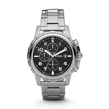 #Fossil Dean Stainless Steel Chronograph Date Mens Watch FS4542 US $94.50 New with tags in Jewelry & Watches, Watches, Wristwatches http://ebay.to/1vR23Ef