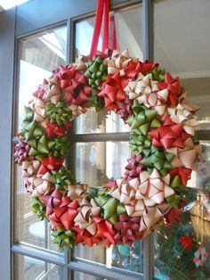 gorgeous christmas bow wreath, crafts, wreaths