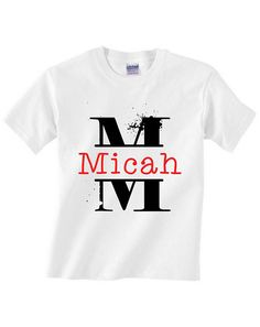 Hey, I found this really awesome Etsy listing at https://www.etsy.com/listing/548003179/boys-monogram-name-shirt-name-with