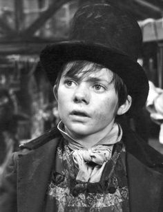 """Jack Wild as The Artful Dodger in the 1968 film """"Oliver!""""  --The musical based on Dickens' """"Oliver Twist.""""   Wild died of cancer at the age of 53."""
