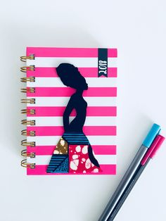 2018 Diary, planner, agenda, organiser, african fabric, ankara journal, A6 diary, spiral diary by MissSemedoCreations on Etsy