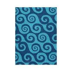 Some of us find our moods lifted in the presence of anything representing the ocean. If you're one of us, you'll love this New Wave Rug. Never mind the swirling tide ambience, or the fact that it's ame...  Find the New Wave Rug, as seen in the Textile Collection at http://dotandbo.com/category/decor-and-pillows/rugs/textile?utm_source=pinterest&utm_medium=organic&db_sku=P36519