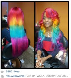 erinkyan:    beckpoppins:    ladyfabulous:    nudiemuse:    ravennightshade:    gizellediorxxx:    art    ALL THE AWARDS.   I mean, ho-ly fuck, that's good.    This is fucking amazing.    She has unicorn hair    give this lady her own 80's cartoon    ahhh who wants to let me do this to their hair    I volunteer.
