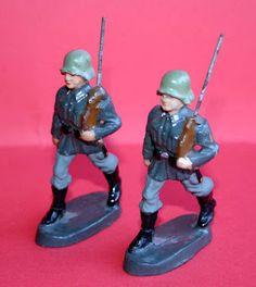 """Figuras Composición: """"Soldados Alemanes"""" de Hausser"""