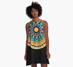 Decorative mandala   A-Line dresses by mrhighsky on redbubble