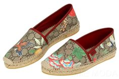 1d854f2cf New Gucci Ladies GG Guccissima Tian Logo Espadrille Flat Casual Shoes 40 US  10 | eBay