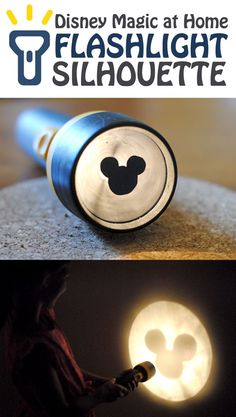 Disney Magic at Home: Flashlight Silhouette!