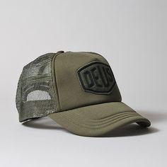 9c2cfc458a7 Deus Ex Machina Felt Shield Trucker Cap Deus Hat