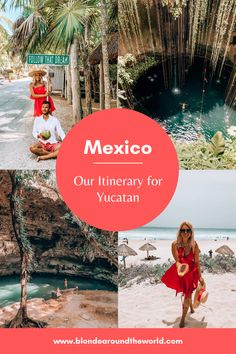 Our Itinerary for Mexico – Yucatan Cozumel, Cancun, Tulum, Future Travel, Mexico Travel, Amazing Destinations, Travel Guides, Adventure Travel, 3 Weeks
