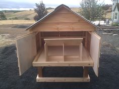 Easy to clean chicken coop. One day I will have chickens..
