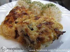 Krémsajtos csirkemell Cauliflower, Food And Drink, Chicken, Vegetables, Cauliflowers, Vegetable Recipes, Cucumber, Veggies, Cubs