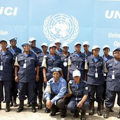 New contingent of female police officers from #Rwanda join UN Peacekeeping mission in #Cote d'Ivoire