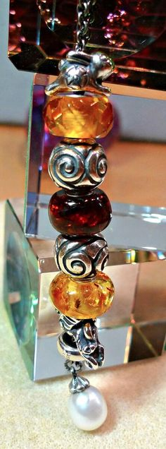 Amber Trollbeads so lovely!