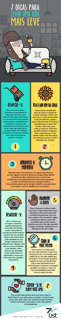 7 dicas para levar uma vida mais leve