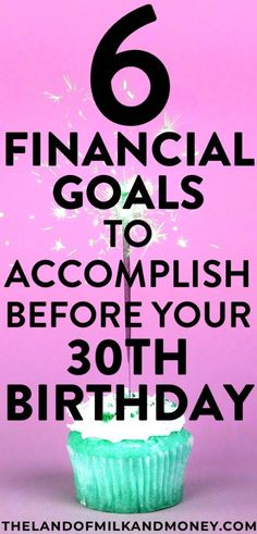These finance tips are just what I needed with my birthday coming up! I've been putting off money management stuff for so long but I really have to start to save money and start budgeting, so these ideas and goals are great! Dave Ramsey, Ways To Save Money, Money Saving Tips, Money Tips, Money Savers, Turning 30, Financial Goals, Financial Planning, Financial Literacy