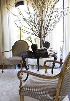Jeff Andrews Does Kris Jenner Home Interior S, Home Interior Design, Jeff Andrews Design, Kris Jenner House, Kardashian, Design Your Own Home, Artwork For Home, Branch Decor, Family Room Design