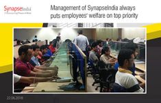 SynapseIndia Management Strategies For Employees Benefits: Management of SynapseIndia always puts employees' ...