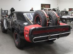 """""""Furious 7"""" features an Off-Road Dodge Charger and it's Wicked Awesome"""