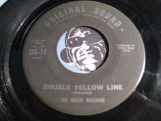 Music Machine - Double Yellow Line b/w Absolutely Positively - Original Sound #71 - Garage Rock