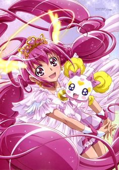 The only reason I watched this is because my niece doesn't want to watch anything else.  I actually kinda like the show (is that silly?  I'm a 19 year old girl XD)  #GlitterForce #Anime #Manga