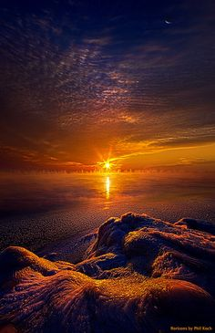 """""""Into the Soul of Winter"""" Horizons by Phil Koch."""