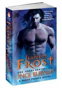 great book I read it in one day! Once Burned Book Author Jeaniene Frost Paranormal Romance Vampires