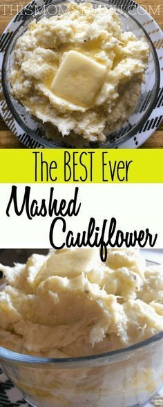 Seriously the BEST mashed potato substitute out there! This mashed cauliflower does not disappoint! It's low carb and keto friendly as well as gluten free!