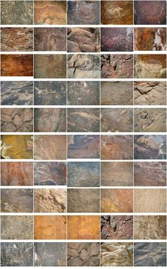 50 Rocks Textures Set 2 50 JPG | 2828x2108 PIX | 183 MB