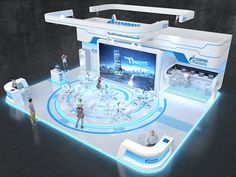 GAZPROM automatisation on Behance