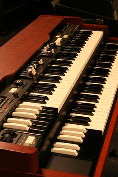 Hammond the real deal rock and roll keyboard Hammond Organ, The Hammond, Electric Keyboard, Electric Piano, Studio Equipment, Studio Gear, Music Keyboard, Organ Music, Sound Of Music