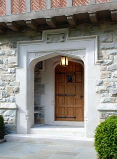 Douglas VanderHorn Architects | English Tudor Entry Doorway