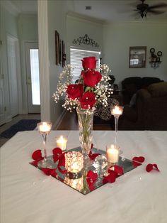 Wedding centerpiece on a budget by Vera