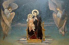 ΜΡ.ΘΥ__Παναγια ( Victor Mikhailovich Vasnetsov: Madre de Dios.