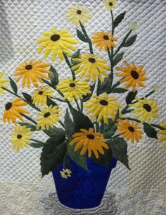 Simply Put Plus: Flying Geese Show-Part 1, Black-Eyed Susans by Jan Kirby