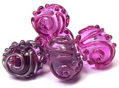 Decorating With Stringer - Lampwork Tutorial by Kandice Seeber / Coloraddiction