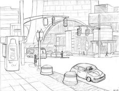 City Street by unit-3992
